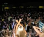 High School Dance in the Quad